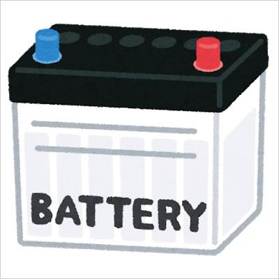 車のバッテリー交換