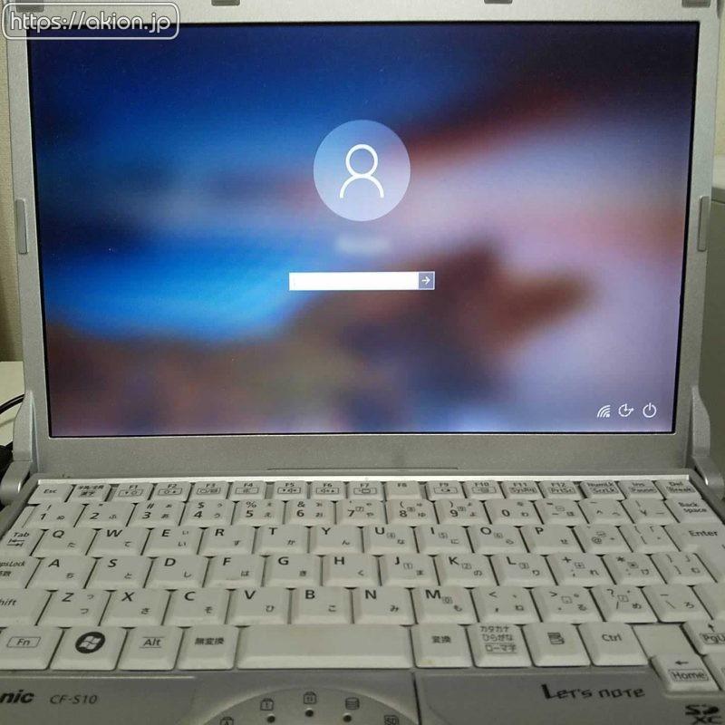 CF-S10 Windows10