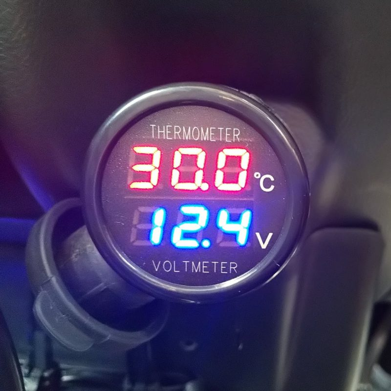 車 シガー ソケット 電圧
