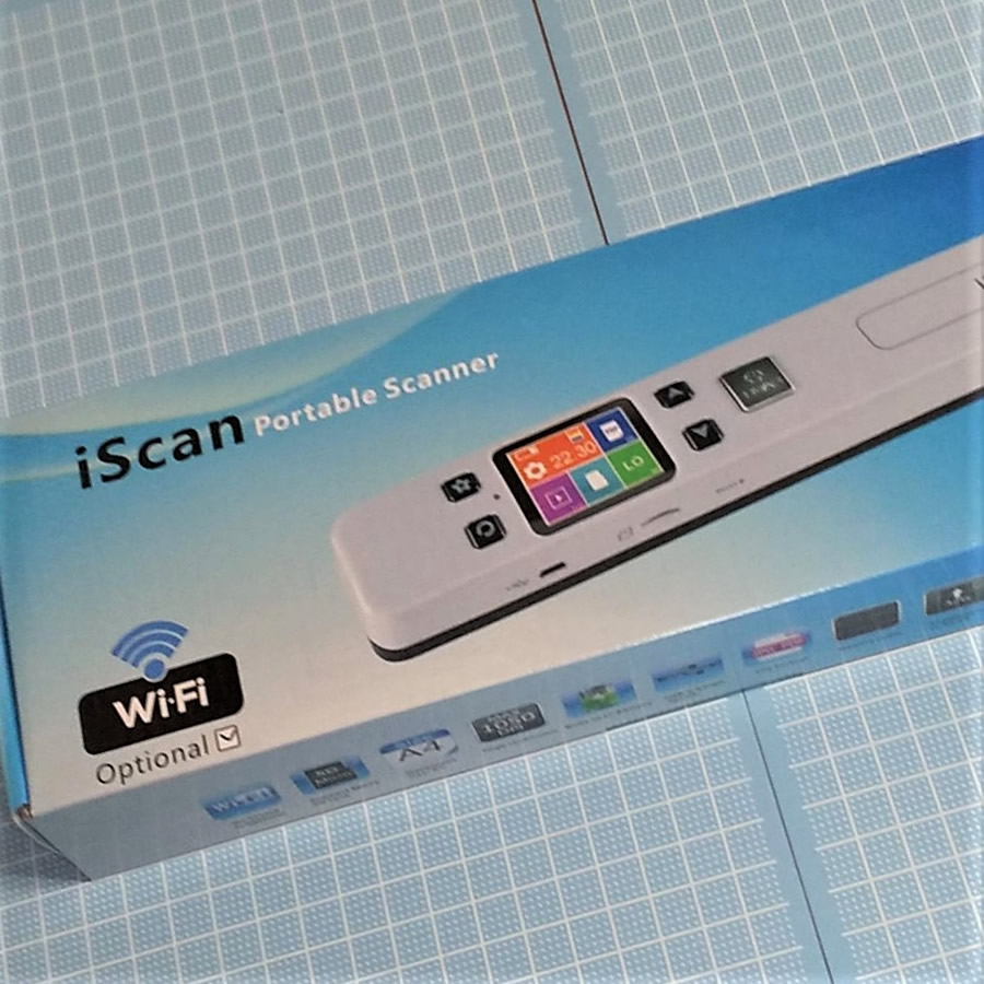 Inlight iscan02 Portable Scanner