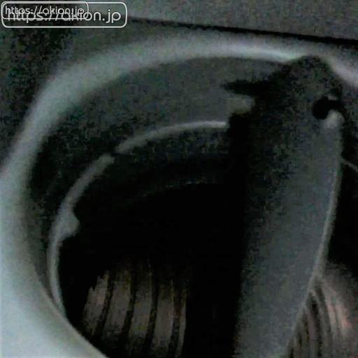 吸排気式レンジフードの吸気ダクト